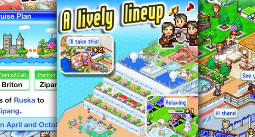 World Cruise Story: Let's go on a cruise with Kairosoft