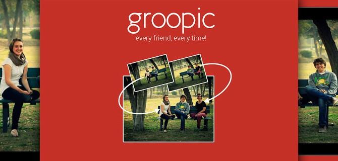 Groopic sorgt für schöne Gruppenfotos