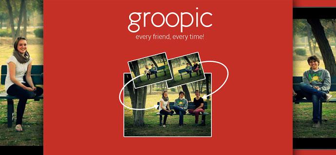 Groopic creates beautiful group shots