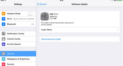iOS 7.1.1 and Mac OS X updates released by Apple
