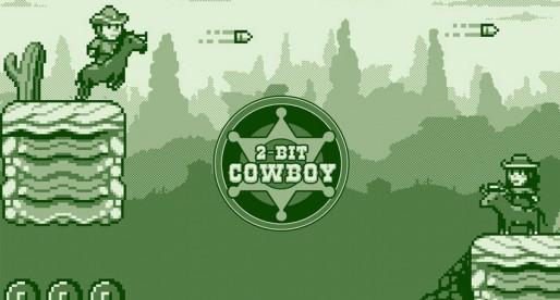 2-bit Cowboy: Wild West Platformer in Gameboy retro style
