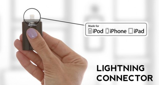 iStick: First USB stick for iOS with lightning connector