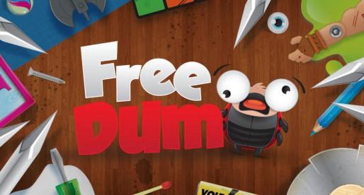 FreeDum: Guide a little ladybug safely through a dangerous maze