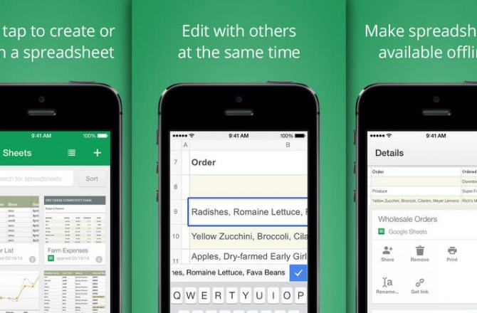 Google Sheets: Another strike against Microsoft Office