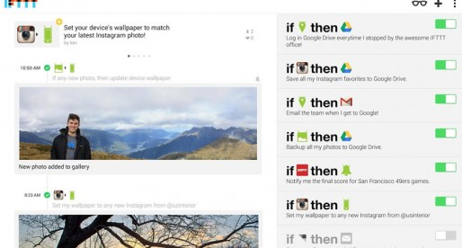 IFTTT: Finally available for Android