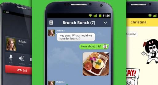 Line Messenger: Major update for WhatsApp alternative