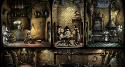 Machinarium: Indie Adventure in metropolis-style