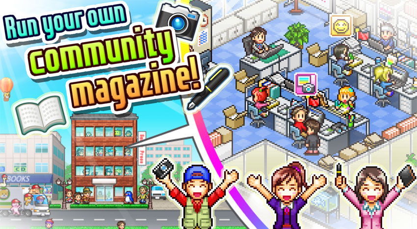 Magazine Mogul: The latest from Kairosoft
