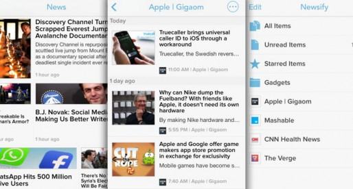 Newsify: The economic alternative to Reeder 2 has been refurbished