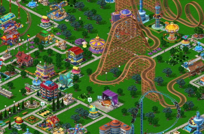 RollerCoaster Tycoon 4 Mobile: Construct the fastest roller coaster ever