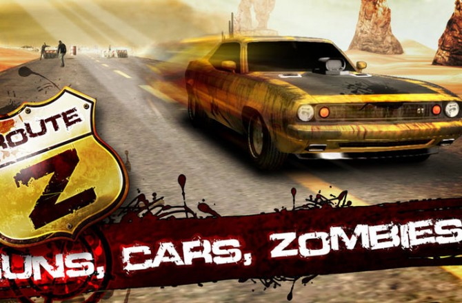Route Z: Let's slaughter some zombies in this entertaining Endless Racer