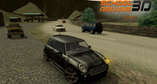 School Driving 3D: Practice for your driver's license using a car, bus and truck simulator