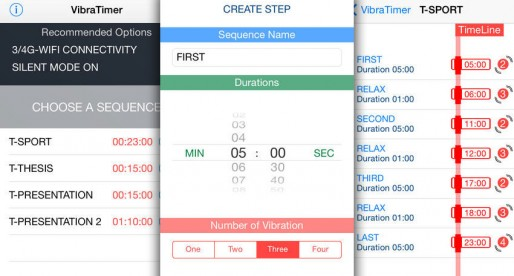 VibraTimer: Get your timing right