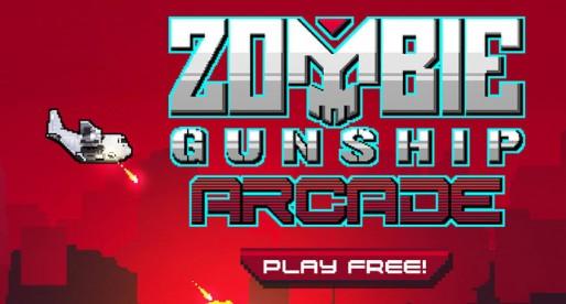 Zombie Gunship Arcade: Endlos-Zombie-Shooter im Flappy-Bird-Style