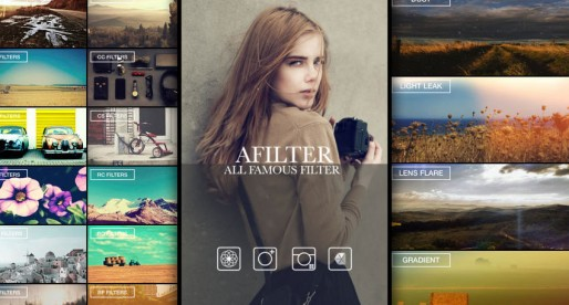 AFilter: Extensive image editing tool with over 100 filters