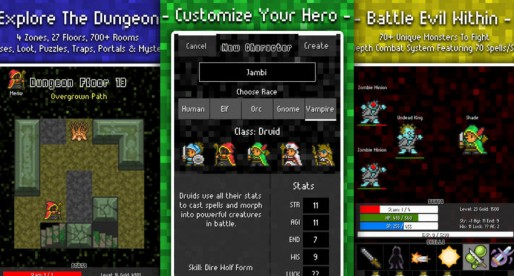 Adventure To Fate: A Quest To The Core JRPG: Extensive medieval fantasy action in pixel optics