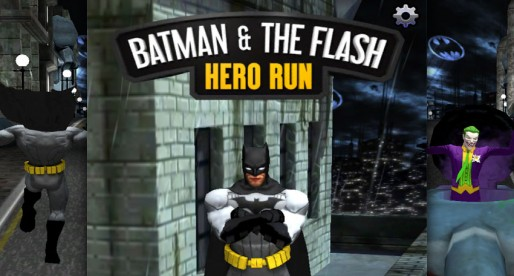 Batman & The Flash: Hero Run: Can you make it all the way to the boss?