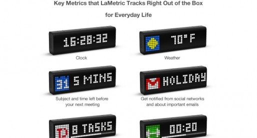 LaMetric: A smart ticker for life and business