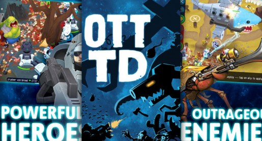 OTTTD: Defend your towers with heroes that are able to learn new skills