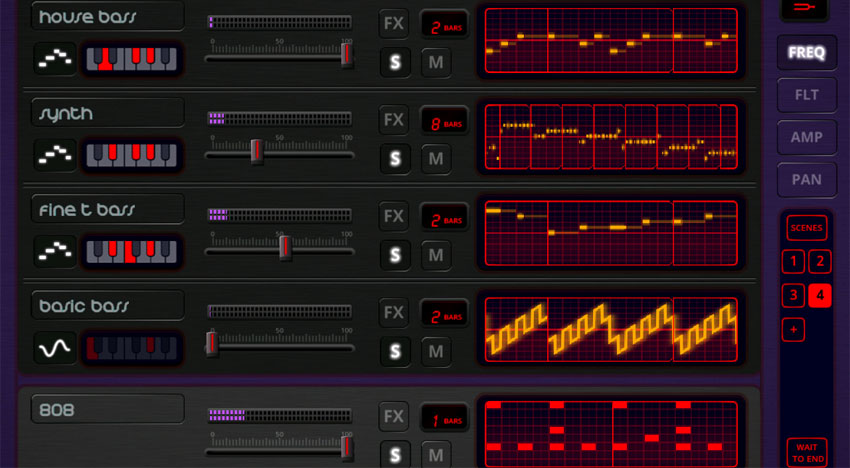 Oscilab: A synthesizer dream for beginners and pros