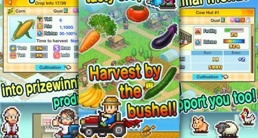 Pocket Harvest: Let Kairosoft help you to establish a retro farm