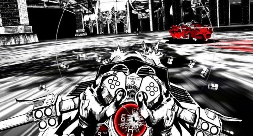 SXPD: A mix of Comic and Racing Game