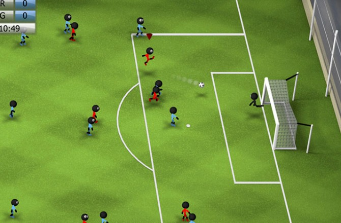Stickman Soccer 2014 – just in time for the World Cup