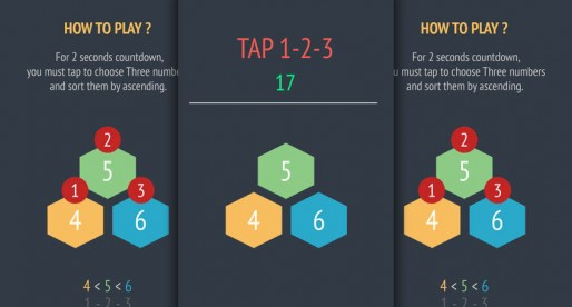 Tap-123: Quick Highscore Game with numbers