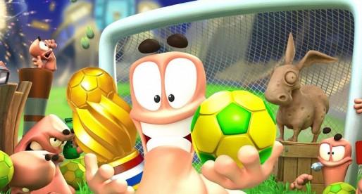 Worms 3 rüstet sich für die Fußball-Weltmeisterschaft
