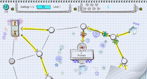 Atomidoodle: Well-made Chemistry Education Game with all the elements of the periodic table