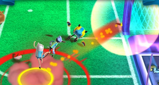CN Superstar Soccer: Well-known cartoon characters play colorful and wild soccer without any rules