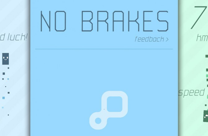 No Brakes: Let's go racing – without brakes