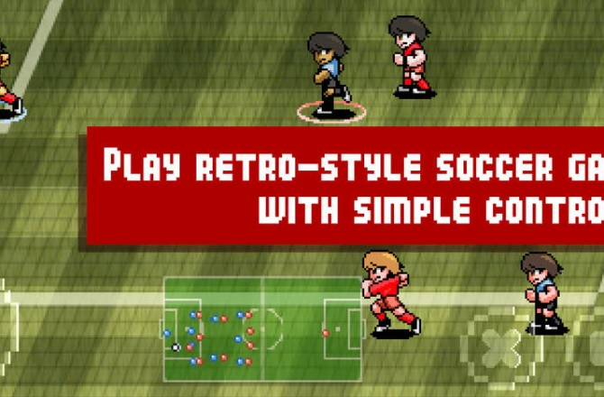 Pixel Cup Soccer: A nice game of soccer for sports fans and 8-bit nostalgics