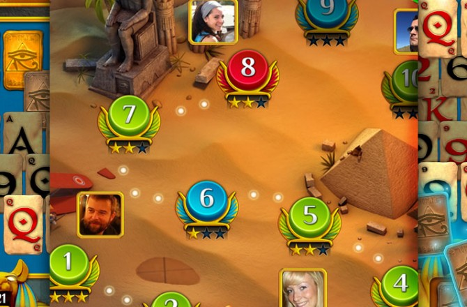 Pyramid Solitaire Saga: The latest by the developers of Candy Crash Saga