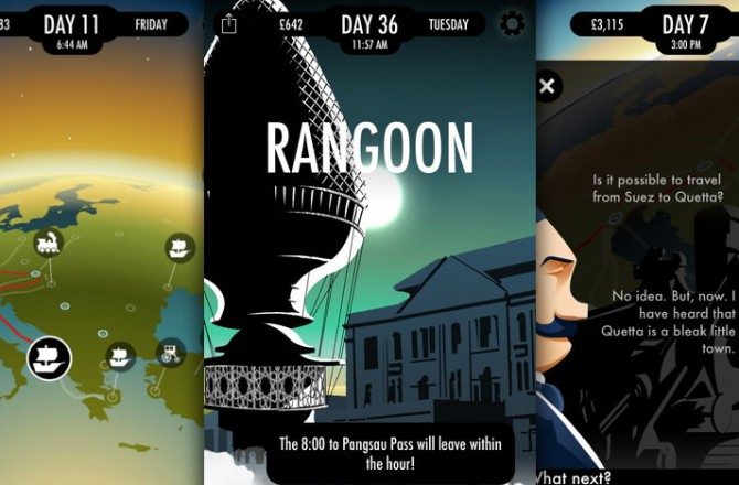 80 Days: Spectacular interactive adventure with live-feed