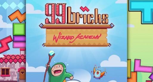 99 Bricks Wizard Academy: A mix of Puzzle, Tetris and Magic