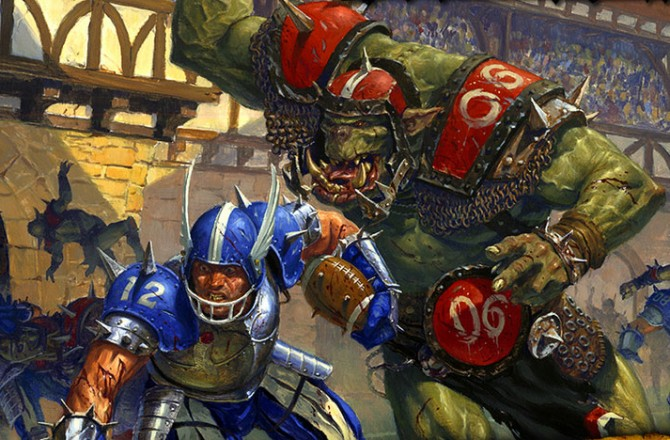 Blood Bowl: The latest from the Warhammer Universe