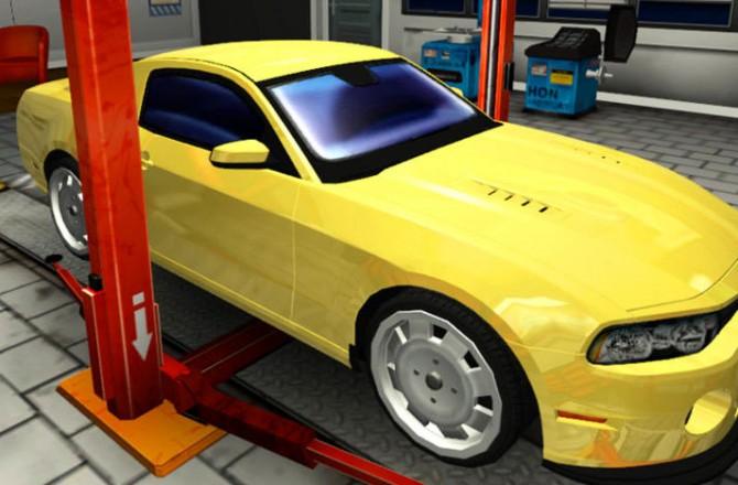 Car Mechanic Simulator 2014: Repair cars and replace parts in your shop