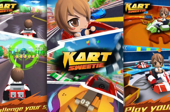 Kart Sweetie: Colorful Racer with extensive gameplay and multiplayer