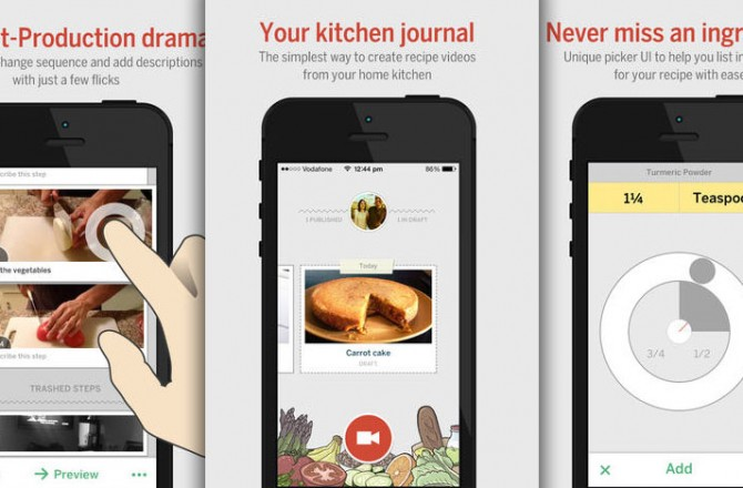 RecipeCam: Let a video shoot turn you into a famous chef