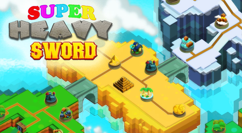 Super Heavy Sword: A new version of the cool Jump'n Run