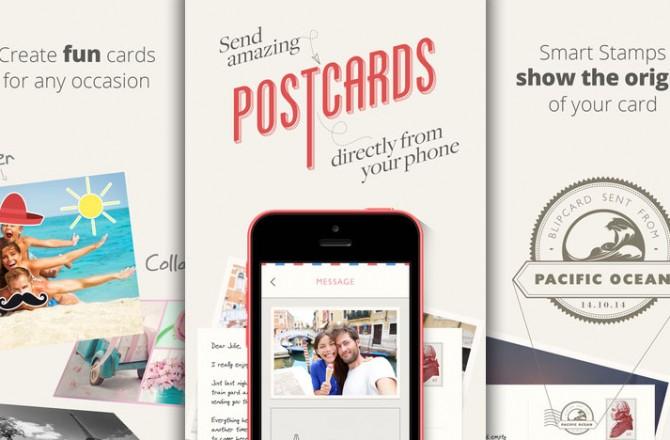 blipcard – Postkarten versenden hat noch nie so viel Spaß gemacht