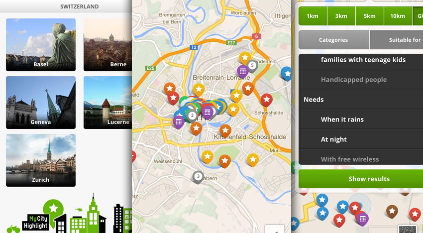 MyCityHighlight – City guide – sightseeing like locals