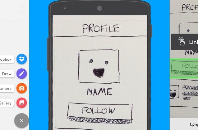 Marvel – Easy App Prototyping