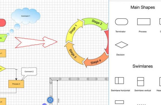 Grapholite – Diagrams, Flow Charts and Floor Plans Maker