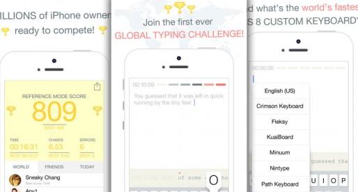 Keywars the global typing challenge, custom keyboards speed benchmark game