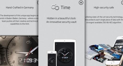 cb Time – Secure vault hidden in an alarm clock