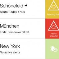 AlertsPro – Unwetterwarnungen der Unwetterzentrale