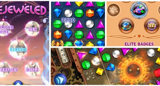 Bejeweled 1.1: Colorful Jewel Puzzle