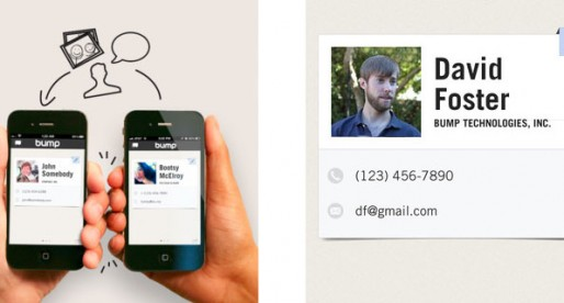 Bump 3.0: Share your contacts and photos!